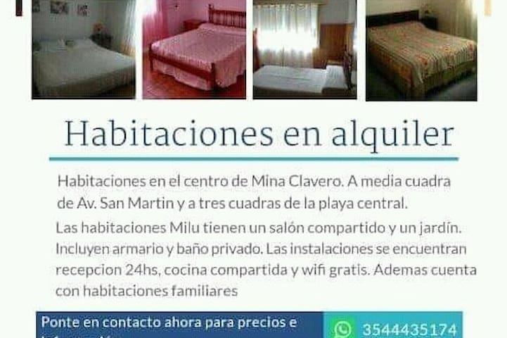 Mina Clavero的民宿