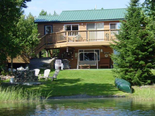 Wilderness Estates Lake Front Cabin Rental