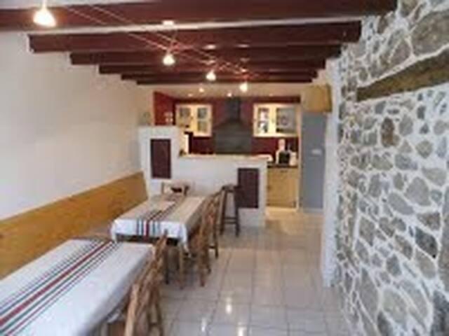 Ainhice-Mongelos的民宿