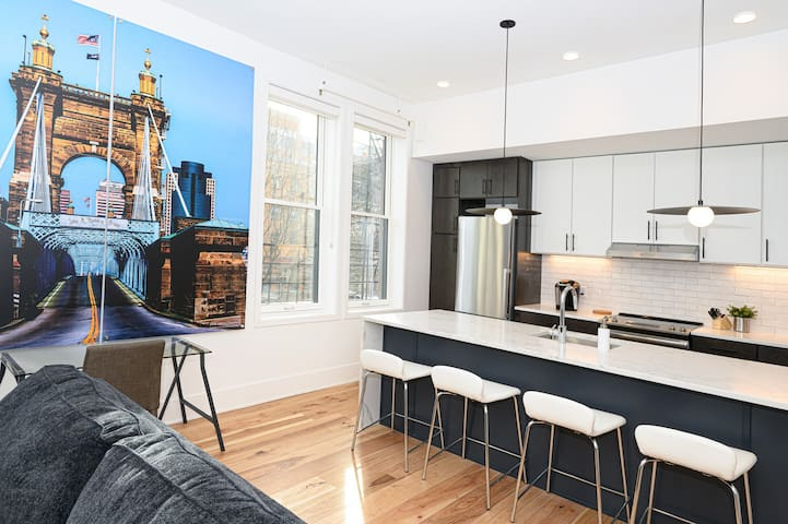 WOW! PERFECT Condo in Over-the-Rhine & Downtown!