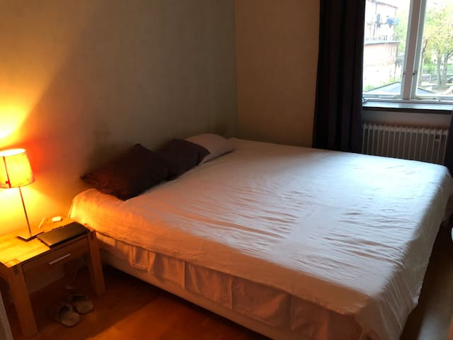 Room in apartment close to Globen