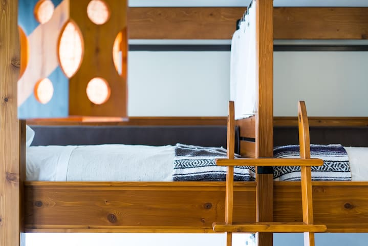 Traveler's Dream - 1 Bed in a Shared Dorm Room with Ensuite Bathroom
