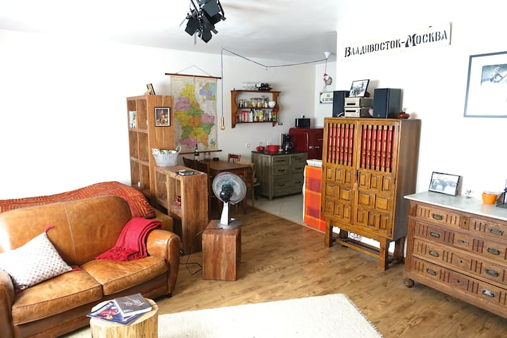 Charming, Cosy, Central Studio Flat