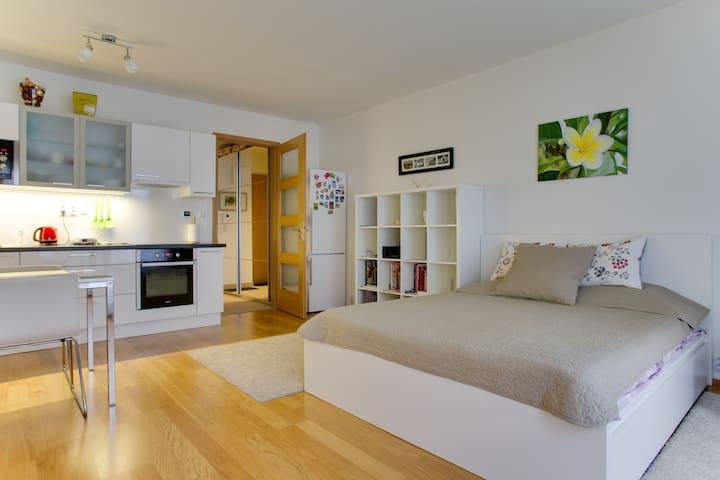 New cozy studio near Prague center
