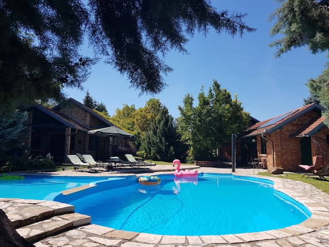 Little paradise with swimming pool in ❤of Popovica