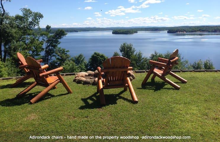 Spectacular Views-Adirondack Mountain & Lake views