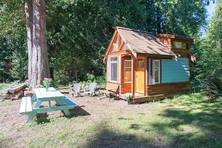*The Micro Cabin in Roberts Creek*