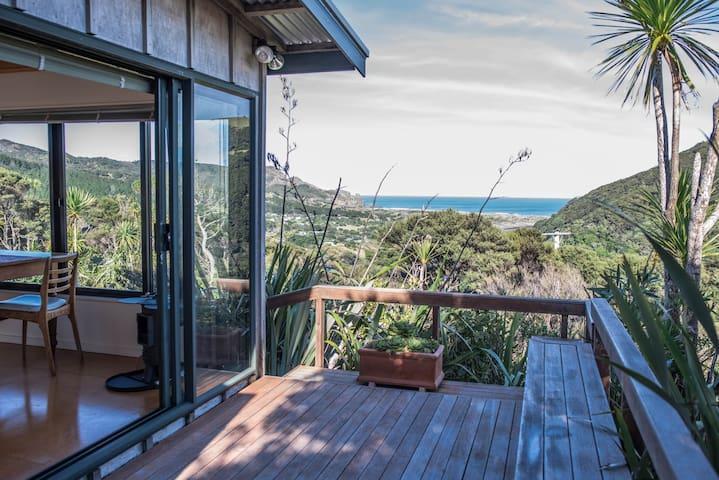 West Coast private hilltop hideaway