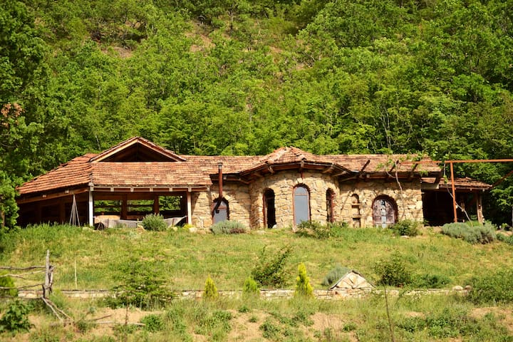 Unique, stone-built countryhouse in a rural area