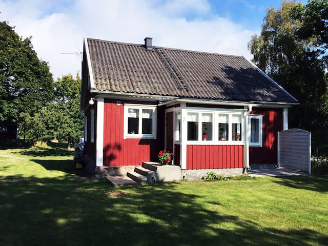 Classic wooden house in the archipelago