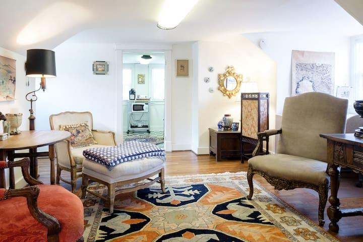 Vintage duplex bungalow loaded with charm