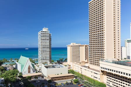 Waikiki Banyan Amazing Ocean View w/Free Parking