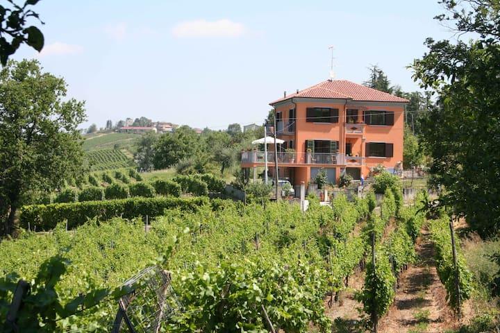 Montecalvo Versiggia的民宿
