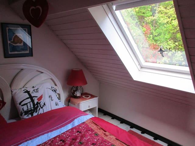Studio romantique au centre Alsace.