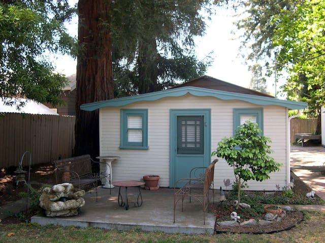 Cottage under Redwoods