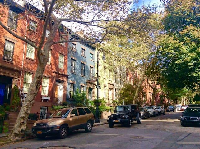 Brownstone in Brooklyn Heights
