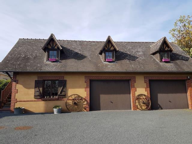 Fontaine-Bellenger的民宿
