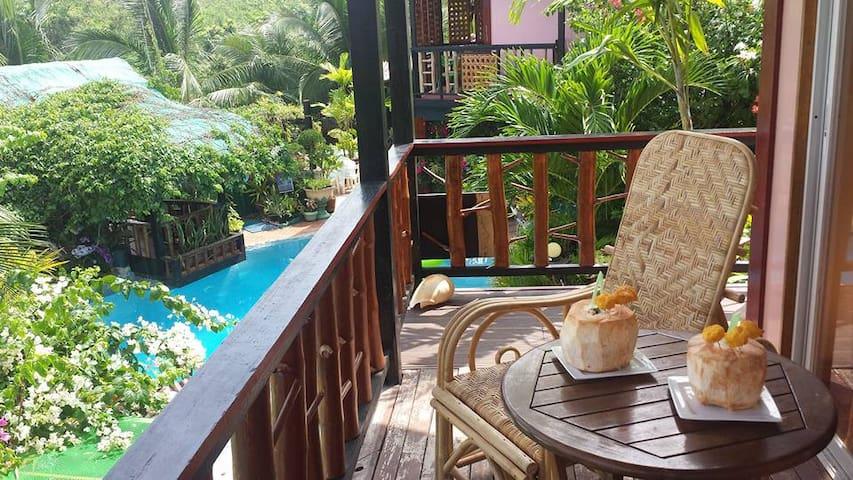 Islandview Holiday Villas Panglao, Garden view