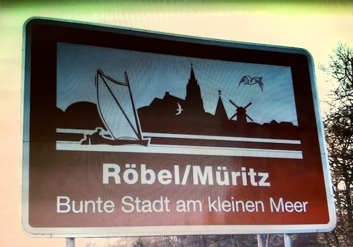 Röbel/Müritz的民宿