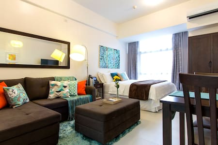 Homey Studio in Greenfield District Ortigas Center
