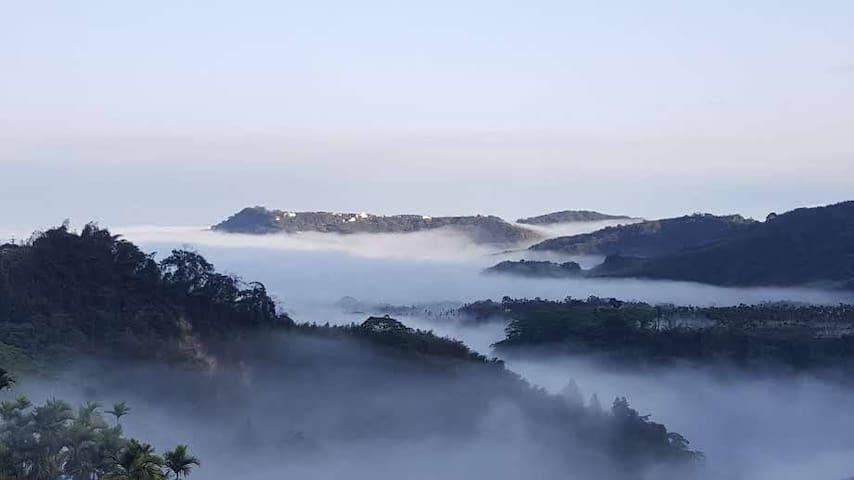 鹿谷乡的民宿