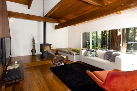 Architect cabin in the Redwoods