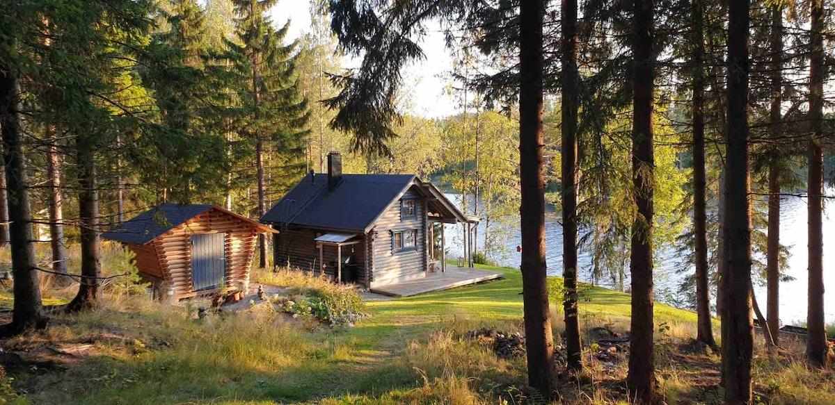 Peaceful retreat at the lake.