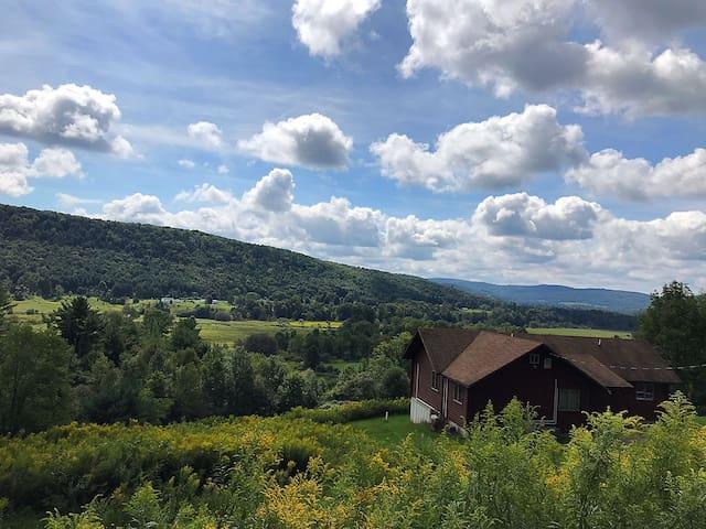 Catskill Cabin Retreat on 31 Extraordinary Acres