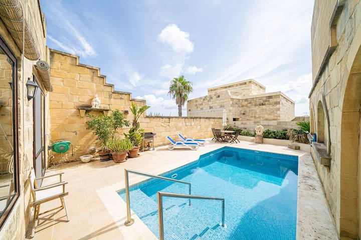 San Pietru Villa - Located in a Peaceful & Tranquil Area