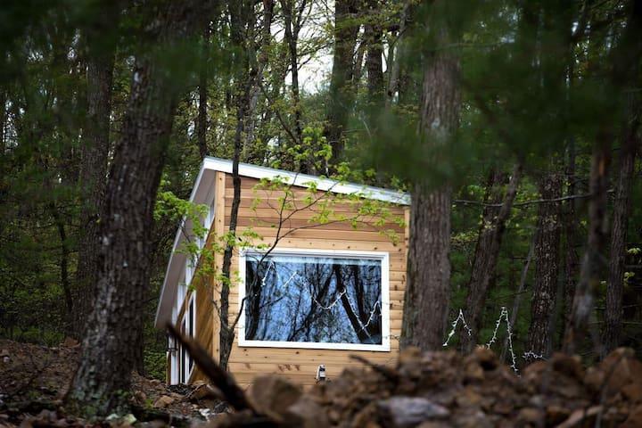 Custom Built Tiny House on 23 Acres of Forest
