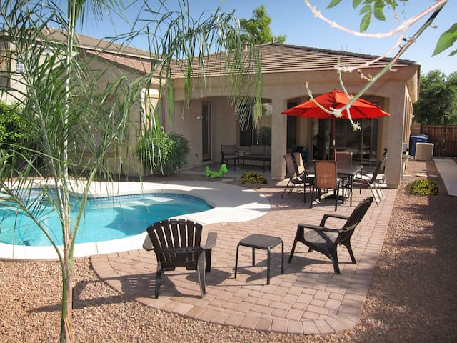 Your Backyard Oasis, Beautiful Home