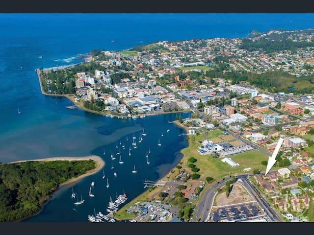 麦觉理港(Port Macquarie)的民宿