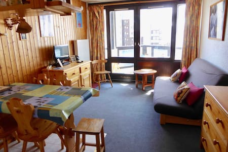 Studio at the bottom of Val D'Isere ski lifts