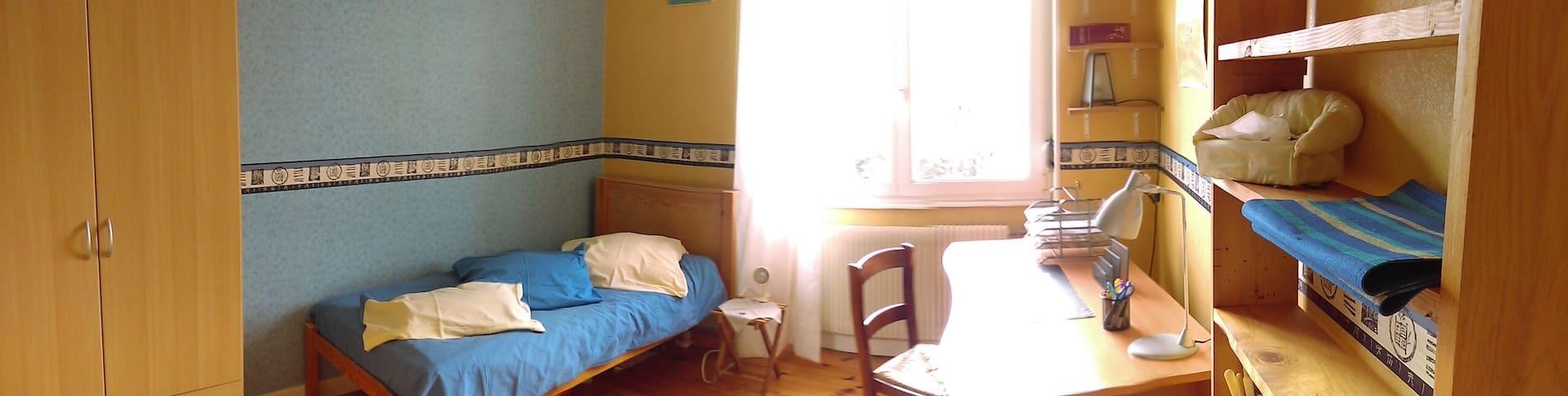 Chambre agréable et lumineuse chez l'habitant