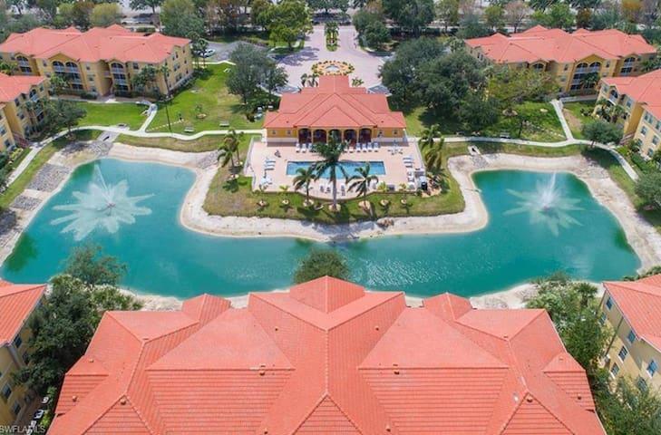 Best location walk to mall  Resort style condo!