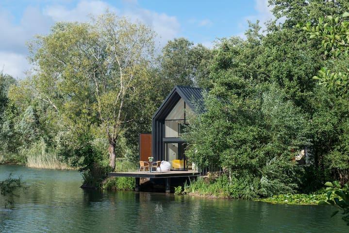 The Island Lodge at Little Horseshoe Lake.