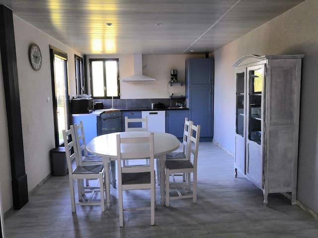 Berville-sur-Mer的民宿