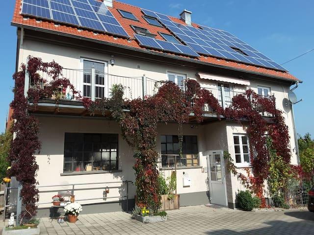 Gästezimmer in Köngetried im Unterallgäu
