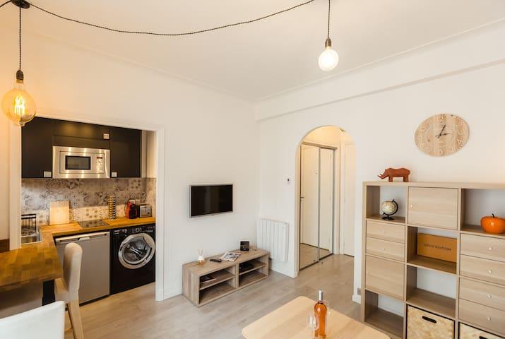Quiet studio in the heart of Nice