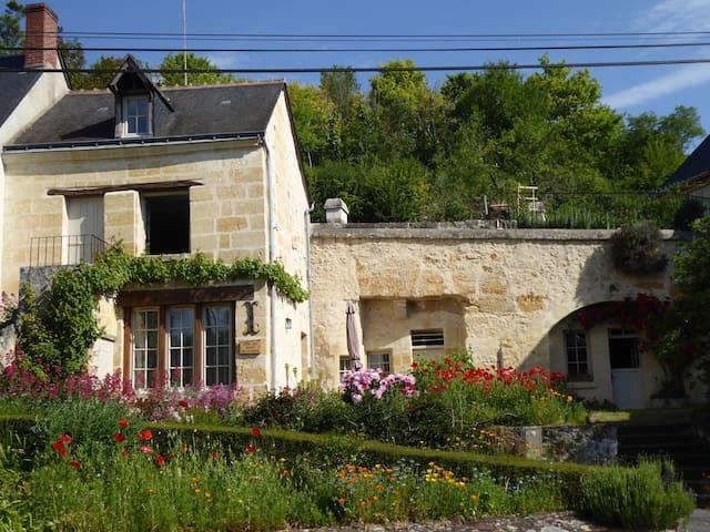Gite troglodyte en Touraine
