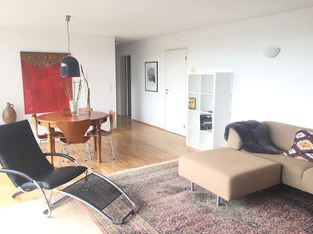 Flat in architect house