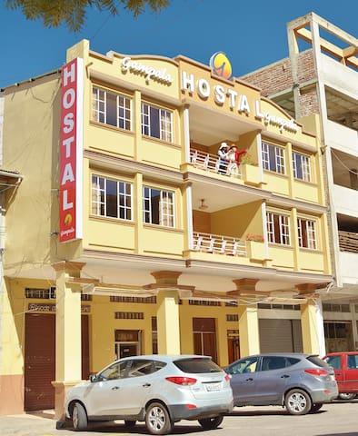 Hostal Gampala. Habitación simple