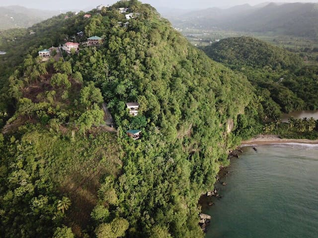 Hummingbird Hangout Eco-cabin - stunning sea views