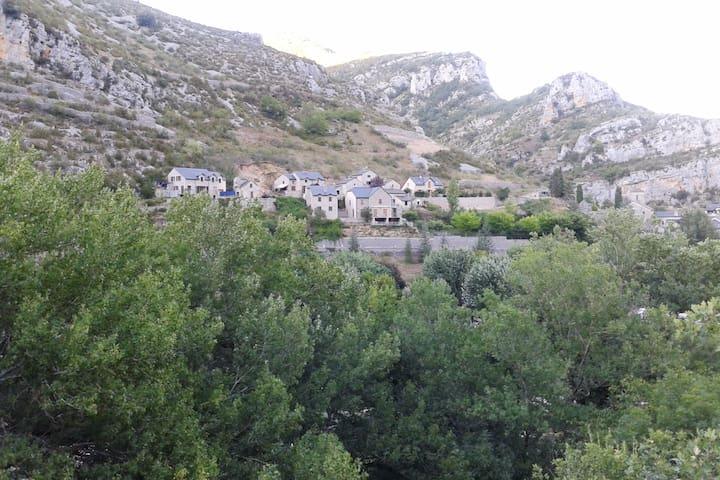 La Malène的民宿