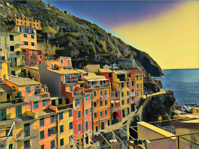 5 Sensi di Mare- Harbour apartment with terrace
