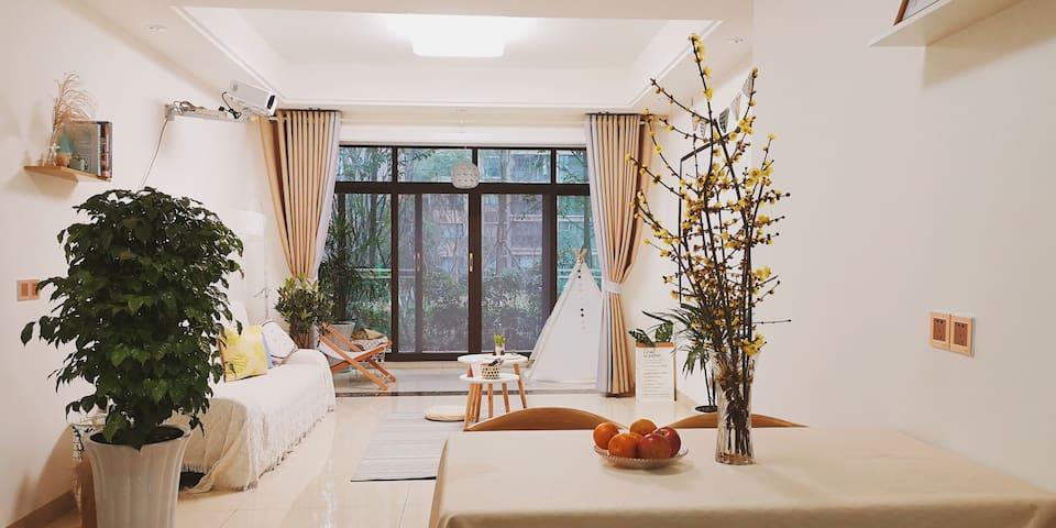 乐山的民宿