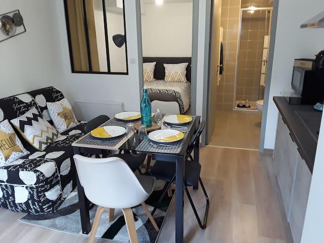 ☆♡☆Charmant appartement à 5 min du Puy-en-Velay!