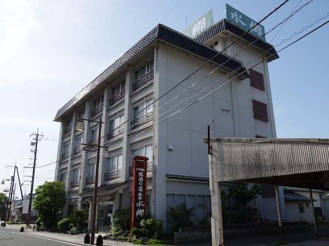 Yurihama-chō, Tōhaku-gun的民宿