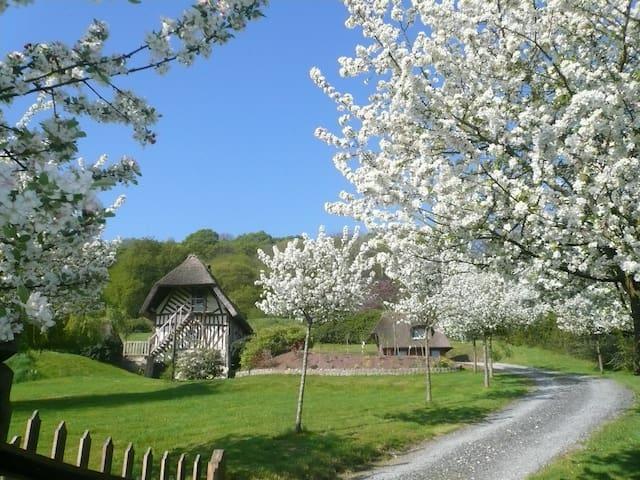 Marais-Vernier的民宿