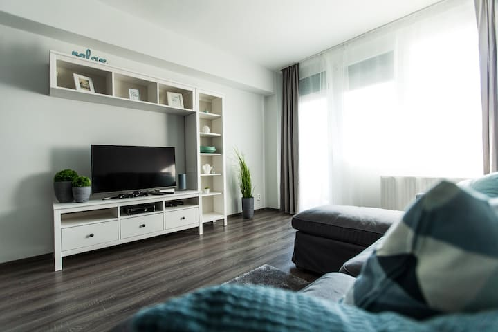 Brand new apartment in the center of the city!